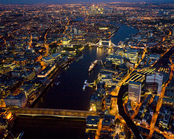 London held 26% of total contract value in June. Photograph Historic England
