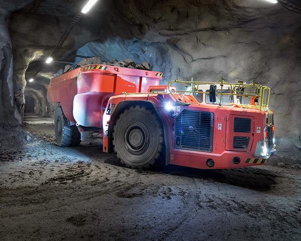 Intelligent trucks aim to boost mining efficiency. Photo:Sandvik