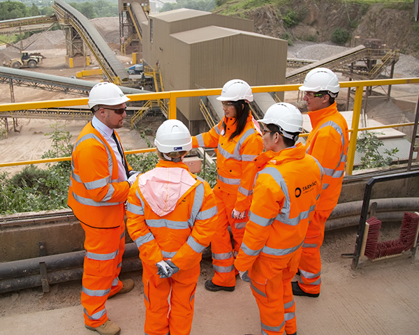 Graduate schemes and apprenticeships can help increase diversity and close the skills gap.Photo: Tarmac