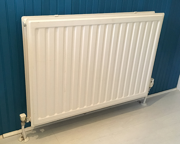 Gas dominates domestic heating in the UK