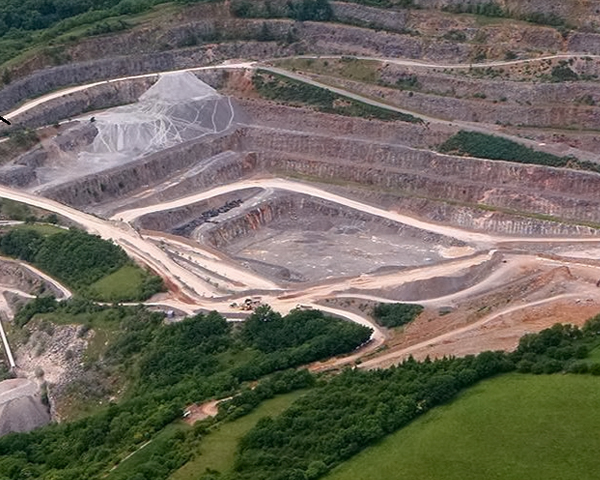 Researchers worked on Batts Combe quarry. Photograph: UWE