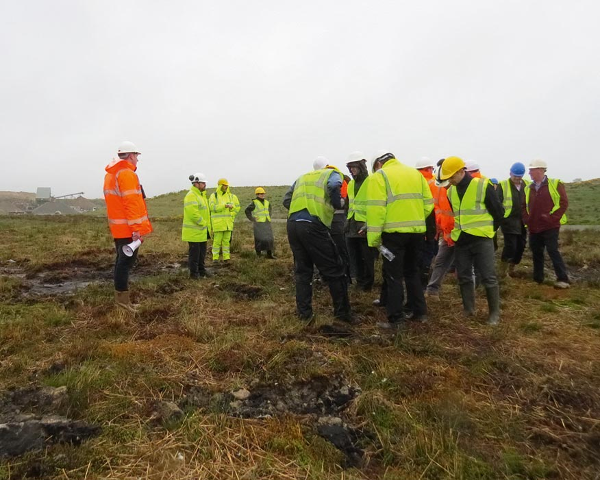 Examining the potential for quarry restoration to boost aquatic plant and animal habitats (credit: Restore)