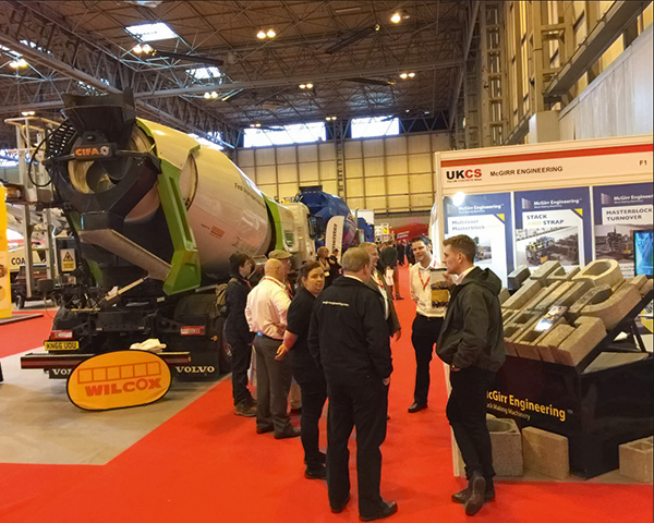 The Concrete Show attracted about 6,000 people. Photograph: Command Alkon