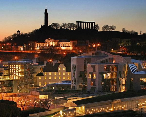 Scottish parliament is debating planning bill. Photo:Scottish Parliament