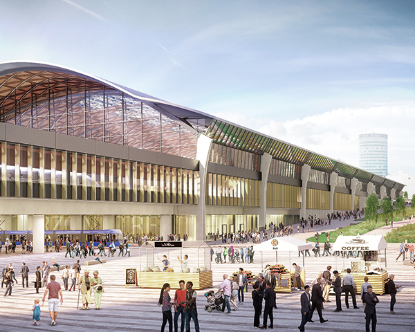 The new HS2 Curzon Street station in Birmingham is due to open in 2026. Photo: HS2