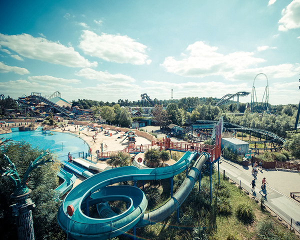 Thorpe Park resort in Surrey is an example of non-traditional restoration of a mineral site