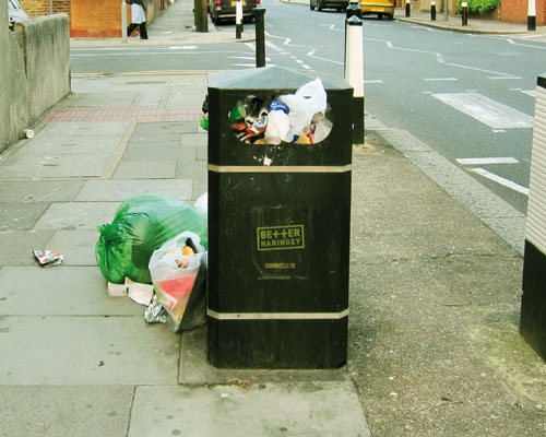North London exports 900,000 tonnes of rubbish (credit: Alan Stanton)