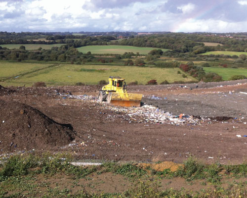 Pebsham is the last remaining landfill site in East Sussex and is due to close this summer. Credit: Ian Blake