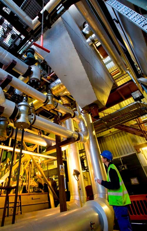 Isle of Wight: UK's first full-scale gasification plant (Image credit: Energos)