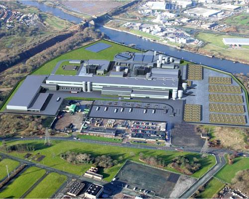 Saica's paper mill, Manchester. Credit: Saica