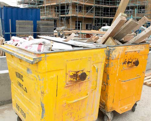 Site waste recycling has increased. Credit: Brighton and Hove City Council