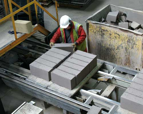 Precast firms have cut waste to landfill by 75%. Credit: British Precast