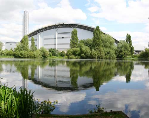 Colnbrook: redevelopment aided by hire-purchase (Image credit: Grundon Waste Management)