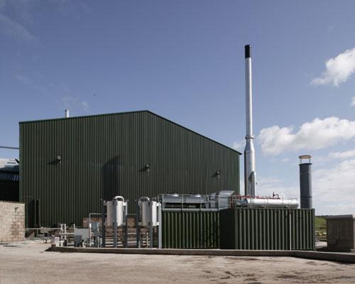 Construction of TEG Group's AD energy plant has begun at Dagenham Dock in east London