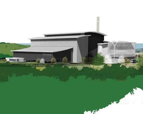 Viridor's proposed new EfW plant in Scotland. Credit: Viridor