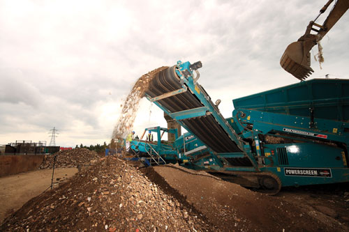 Reconomy recycled aggregate