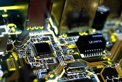 Circuit boards: major source of high-value metals