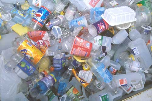 Plastic bottles: the resource the UK needs most (Image credit: Waste Watch)