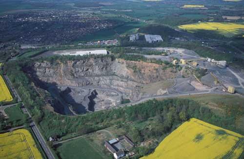 Newhurst Quarry (Image Credit: Leicestershire CC)