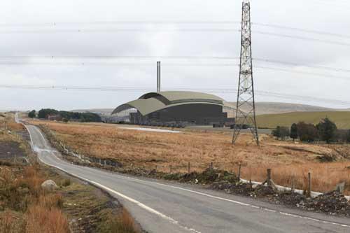 Brig Y Cwm: capacity for 750,00 tonnes of waste (Image credit: Covanta)