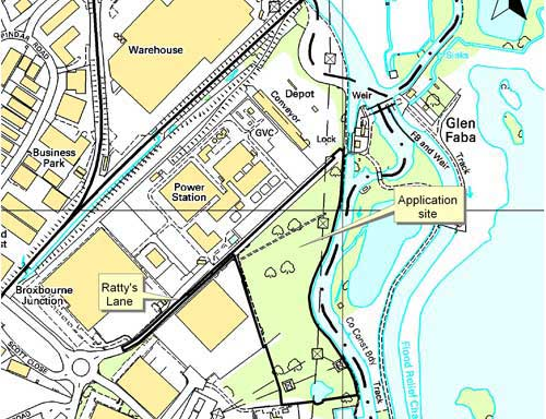 Ratty's Lane: facility for treatment of co-mingled municipal, clinical and industrial waste allowed (Image credit: Hertfordshire County Council [ordnance survey mapping crown copyright AM66/10])