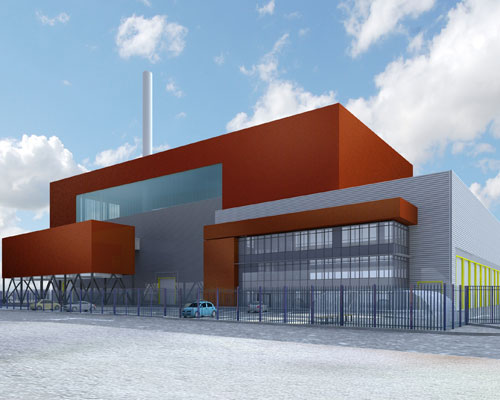 Peterborough EfW site gets approval. Credit: Viridor