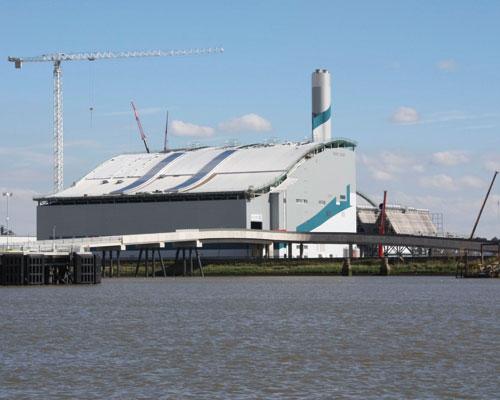 Cory Environmental's Belvedere site, London