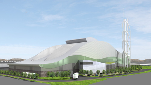Trident Park: permit issued for £150 million incinerator (Image credit: Viridor)