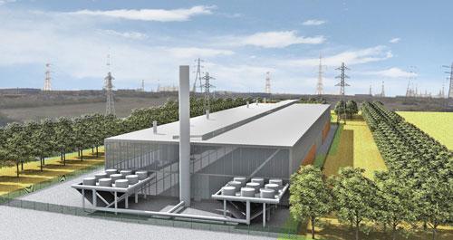 Recycling: plant is set to transform industrial site (Image credit: Race Cottam Associates Ltd)