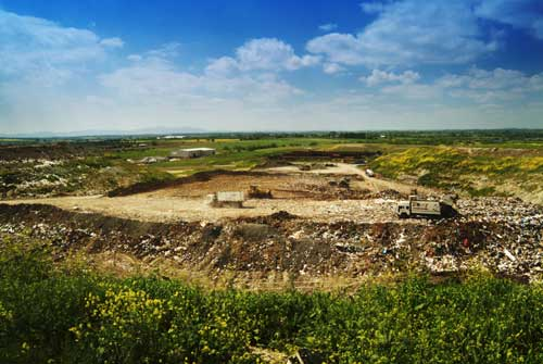Landfill: Scotland has set a target of reducing waste sent to landfill to only five per cent by 2025 (Image credit: Waste Watch)