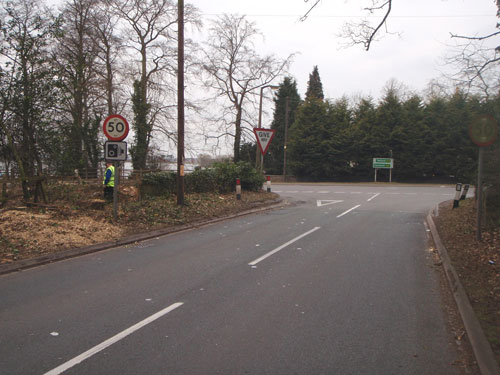 The Dell: junction improvement details approved (Image credit: Staffordshire County Council)