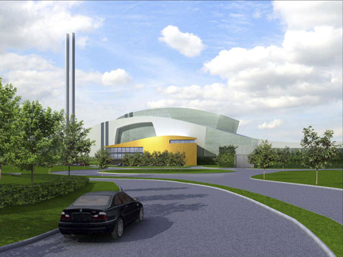 Oxfordshire: Viridor has submitted a revised application for its Ardley energy from waste plant (Image credit: Viridor Waste Management Ltd)