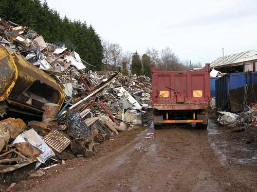 Waste management: facilities do not currently fit into the standard use classes order (Image credit: Staffordshire County Council)