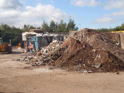 Lichfield: waste transfer station extension allowed (Image credit: Staffordshire County Council)