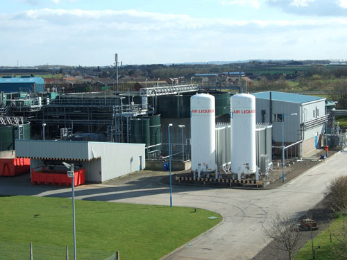 Biological treatment plant: commercial partnership between pharmaceutical and waste companies (Image credit: William Tracey Group)