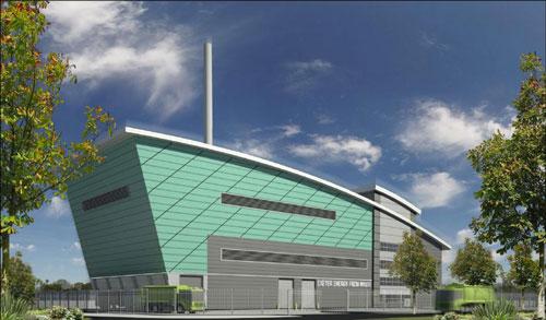 Marsh Barton: Environment Agency has granted Viridor's planned EfW facility an environmental permit (Image credit: Viridor)