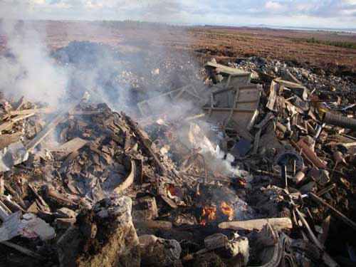 Waste crime: new technology used to fight back (Image credit: SEPA)