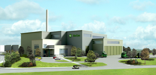 Doncaster: SLR has successfully gained planning permission for an energy recovery facility using gasification technology for its client BioGen Power (Image credit: SLR Consulting Ltd)