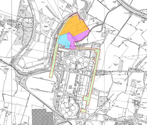 Drax Power Station: no objections raised against 290MW biomass fuelled power station (Image credit: North Yorkshire based on Ordnance Survey Mapping Crown Copyright AM66/10)