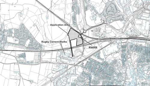 Malpass Farm: climafuel facility allowed (Image credit: Warwackshire County Council based on Ordnance Survey Mapping Crown Copyright AM66/10)