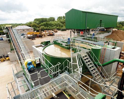 Sheehan's new C&D plant. Credit: Sheehan Group
