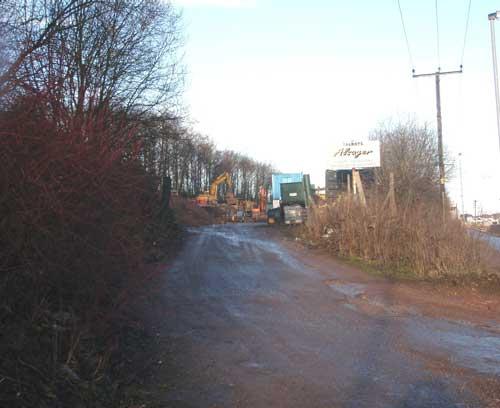 Former Berrisford Transport Yard (Image Credit: Staffordshire CC)