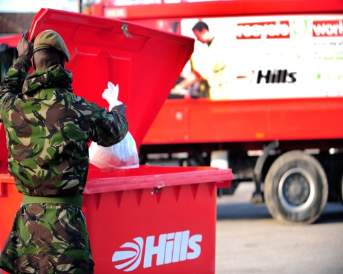 Teams will will handle 4.500 tonnes of waste annually. Picture: HWS