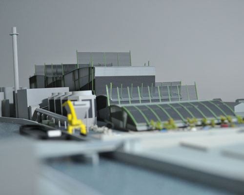 Model of Energy Works site in Hull. Credit: Spencer Group