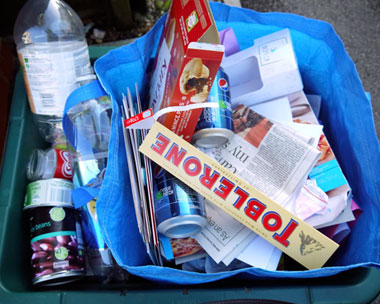 Biffa's service includes fortnightly collection of comingled recyclables