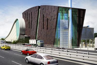 South Clyde Energy Centre. Credit: Peel Environmental