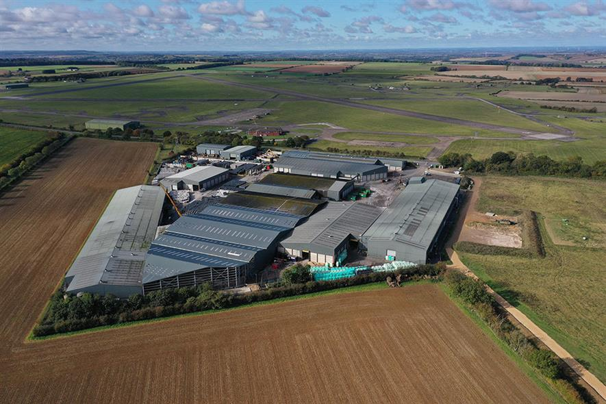 One of the facility's shown was Mid-UK's £30m material recycling facility at Barkston, which is due to open in April 2021