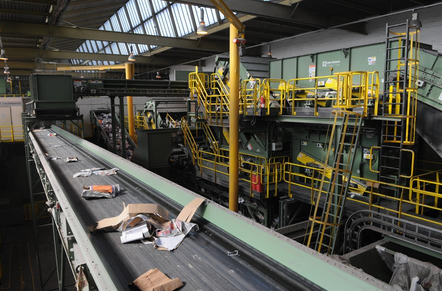 Biffa is adding to its recycling operations with the acquisition of Viridor assets. Photograph: Biffa