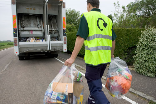 Waste management: large savings possible (Image credit: Waste Watch)