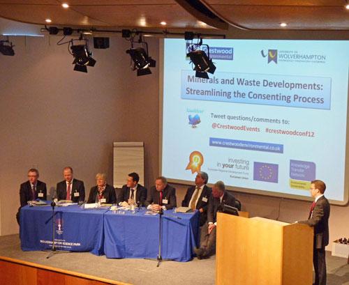 Karl Jones: introducing the final question session (Image credit: Crestwood Environmental Ltd)